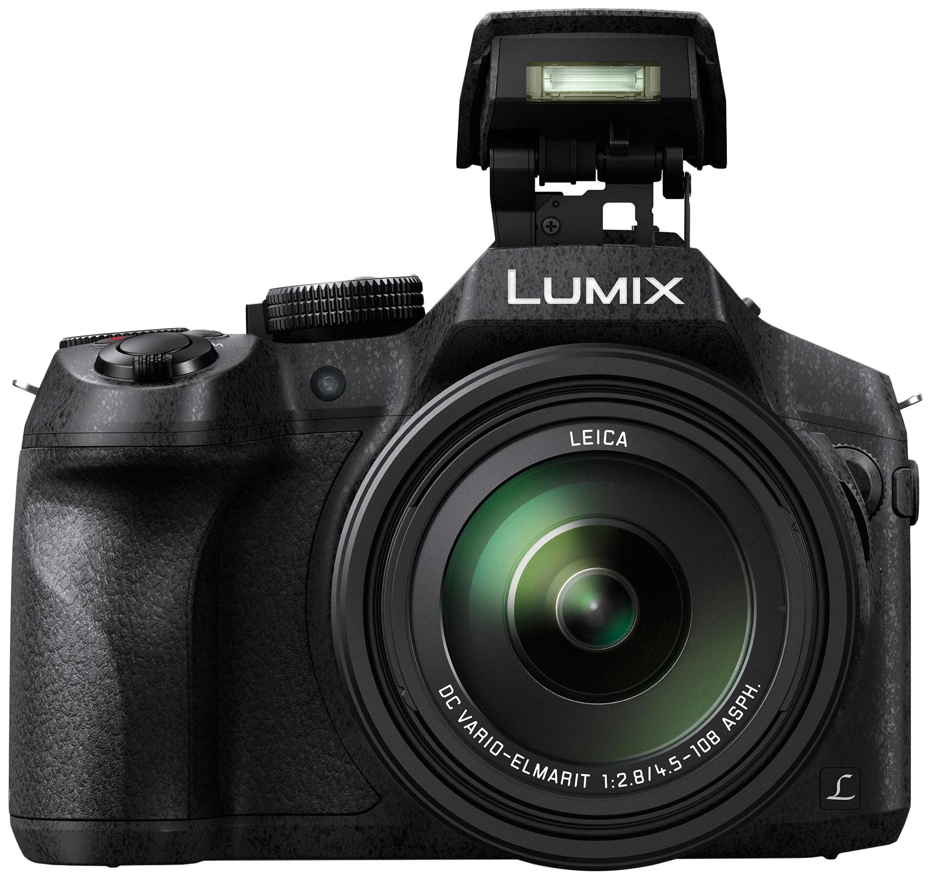 Фотоаппарат цифровой компактный Panasonic Lumix DMC-FZ300 Black фото
