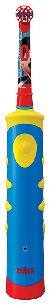 Детская электрическая зубная щетка Braun Oral-B Kids Mickey Mouse D10.513K фото