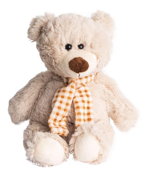 Купить Мягкая игрушка Button Blue Мишка Коля, 24 см, Мягкие игрушки животные