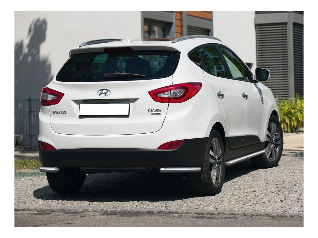 Защита заднего бампера RIVAL для Hyundai (R.2301.010)