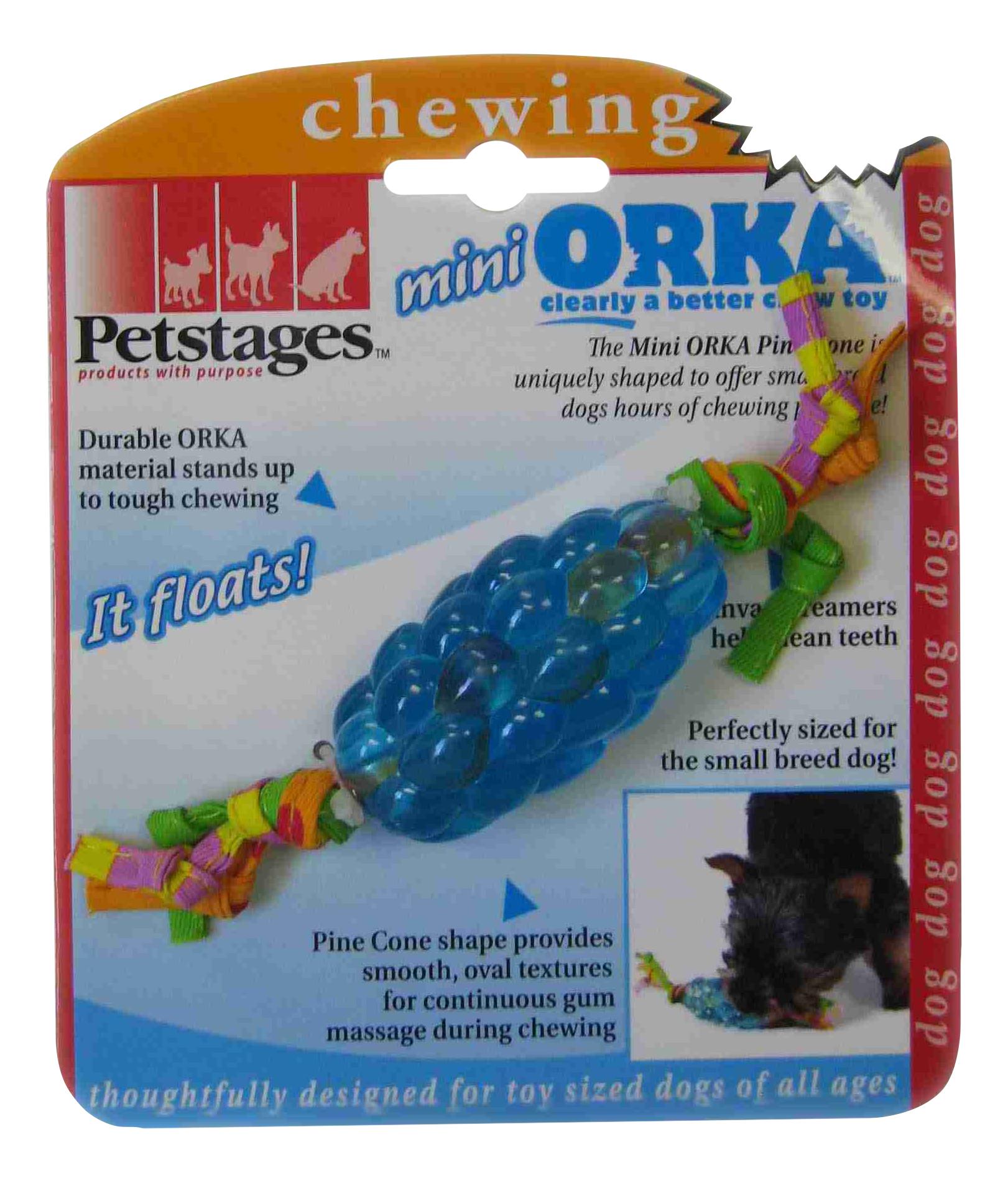 Жевательная игрушка для собак Petstages ОРКА Шишка, 11 см