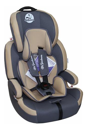 Купить Автокресло Mr Sandman Voyager Isofix группа 1/2/3, Бежевый, Серый, Детские автокресла