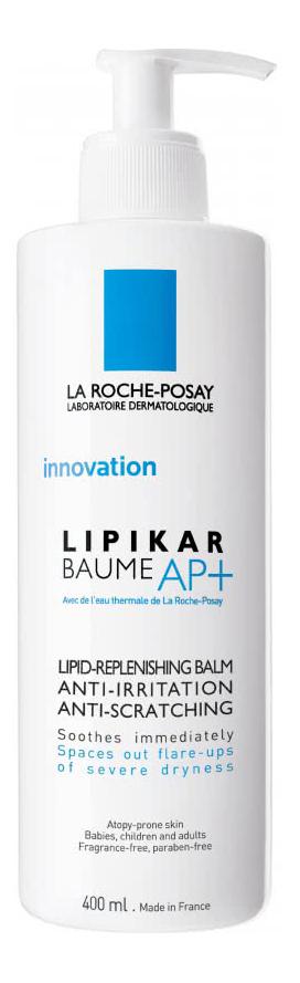 Бальзам La Roche-Posay для лица и тела Lipikar Baume AP+ успокаивающий 400 мл фото