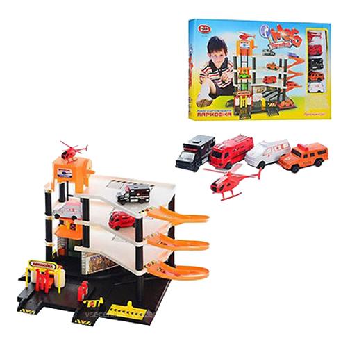 Гараж игрушечный Play Smart Парковка Мега 0846 PLAYSMART