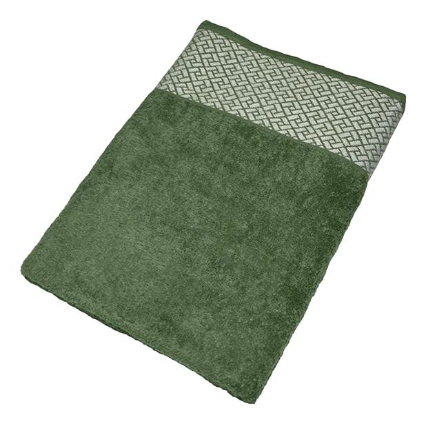 Банное полотенце Aisha зеленый