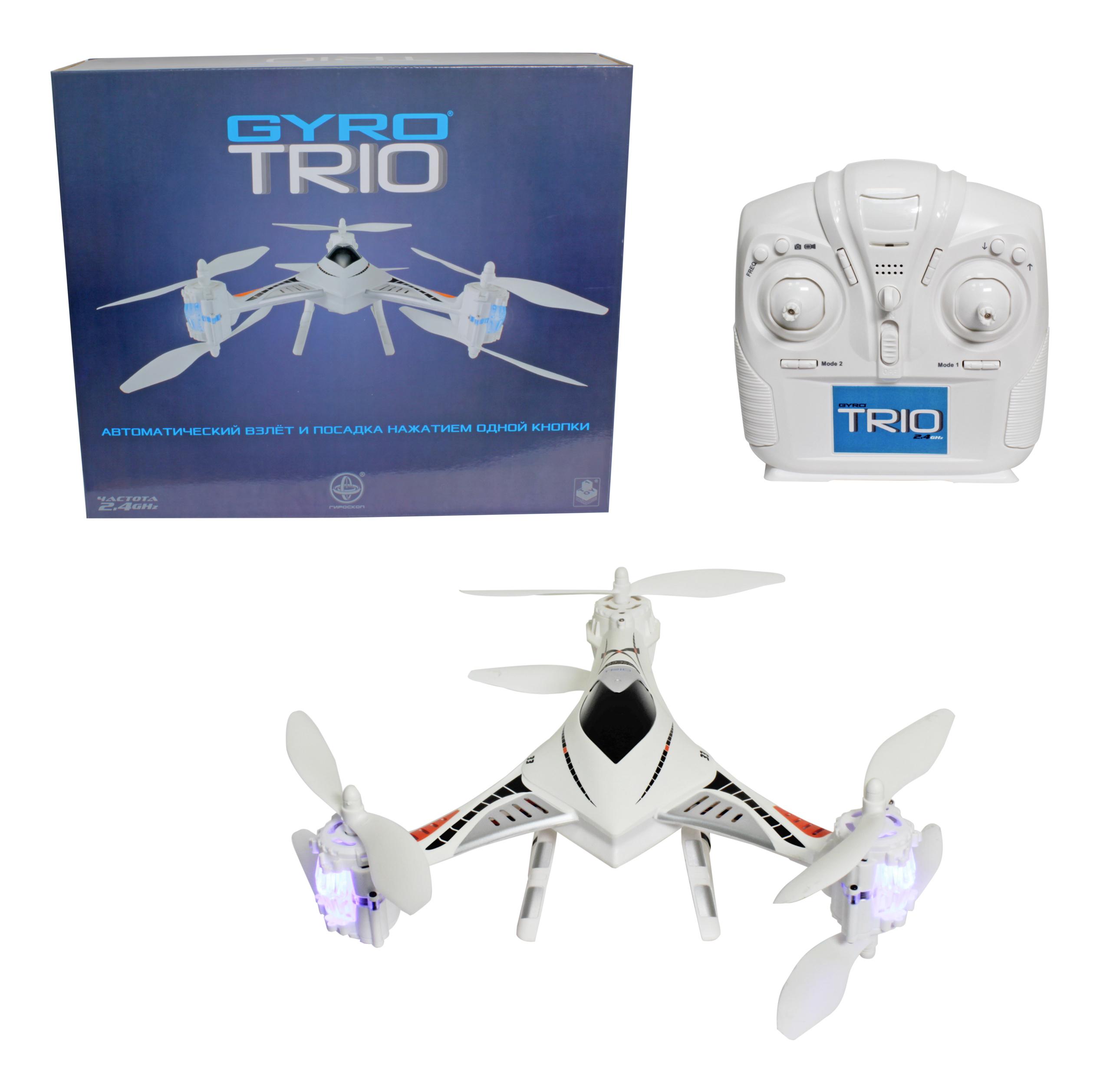 Купить Радиоуправляемый квадрокоптер 1TOY GYRO-Trio, 1 TOY, Квадрокоптеры для детей