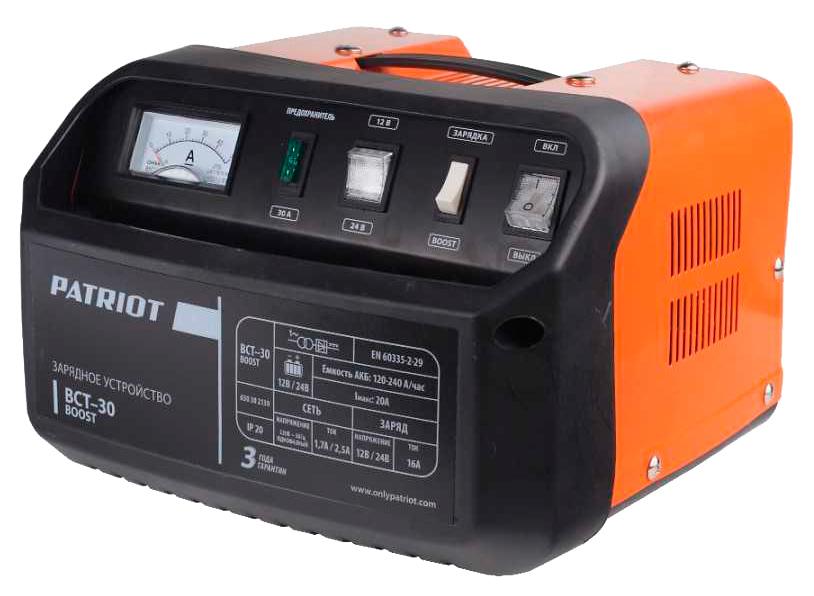 Пуско-зарядное устройство для АКБ Patriot BCT-30 Boost 650301530