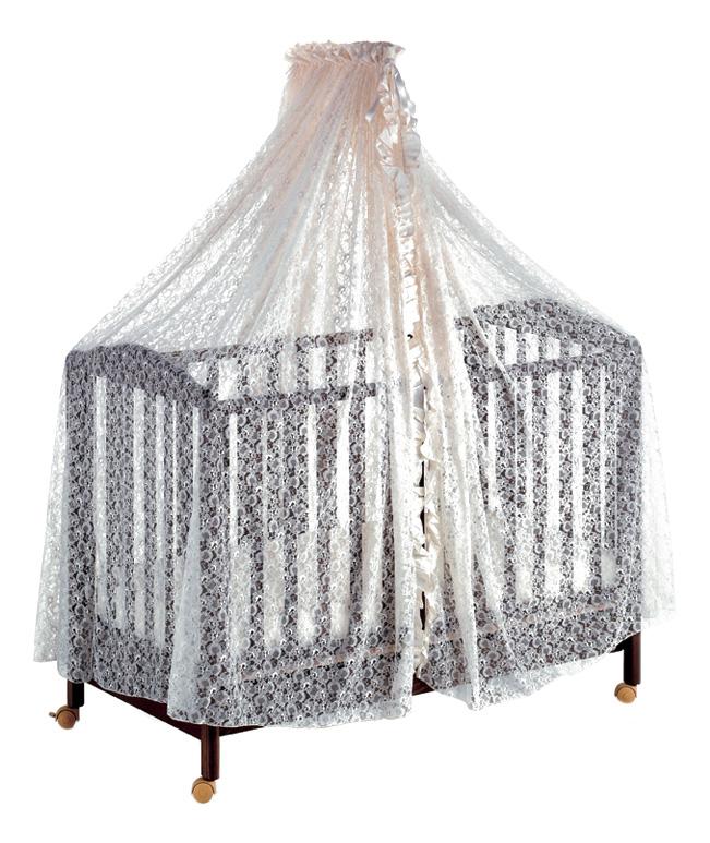 Балдахин для детской кроватки Baby Expert Italbaby бежевый