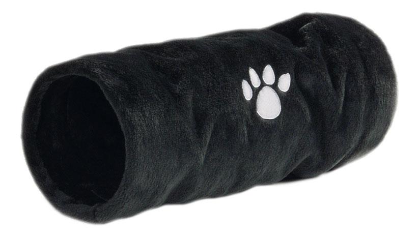 Тоннель для кошек Beeztees плюшевый Crispy 22см 60см фото