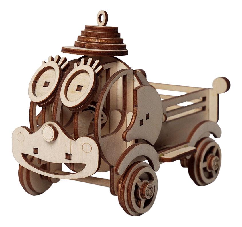 Купить Грузовик Степа, Конструктор деревянный Lemmo Грузовик Степа , Деревянные конструкторы