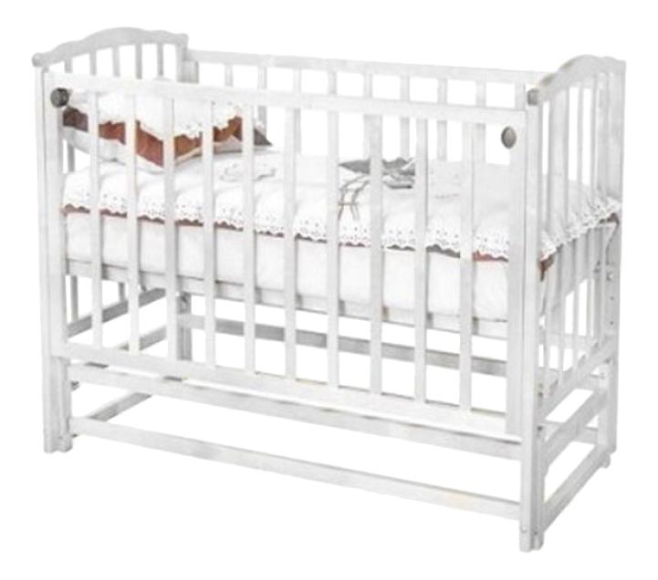 Кровать Красная звезда С-619 Кристина белая