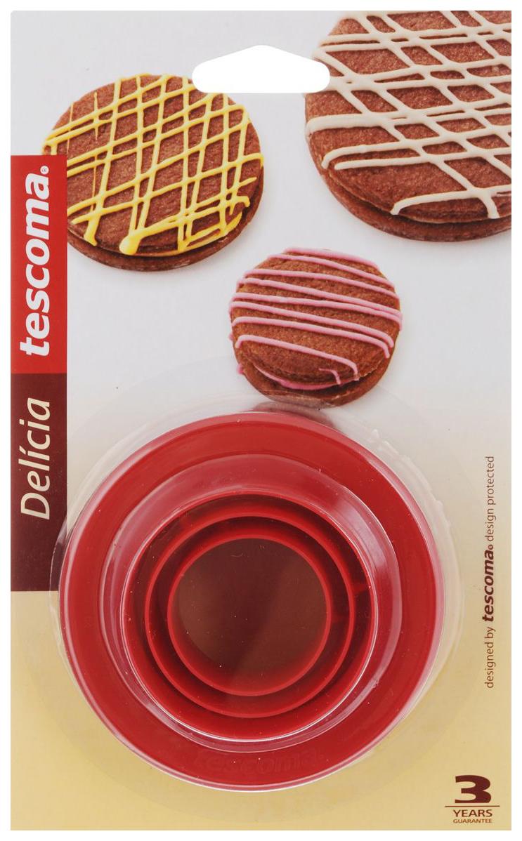 Набор для выпечки Tescoma Delicia 630860 Красный