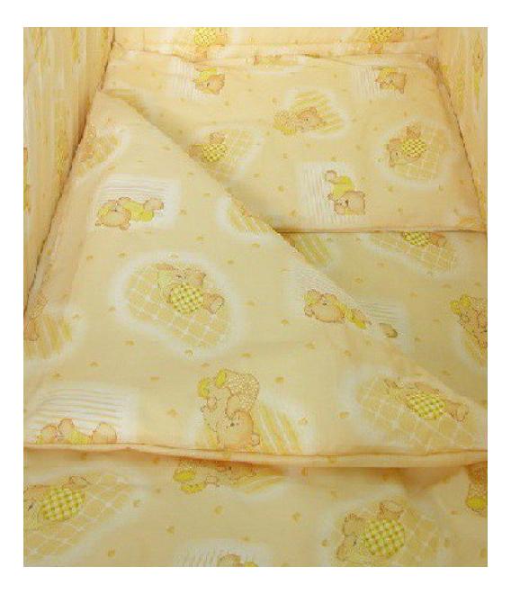 Наволочка на подушку Фея Мишки желтый