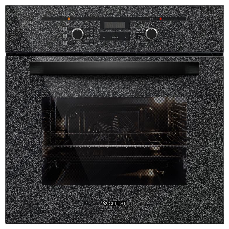 Встраиваемый электрический духовой шкаф GEFEST ДА 622-02 К43 Grey/Black