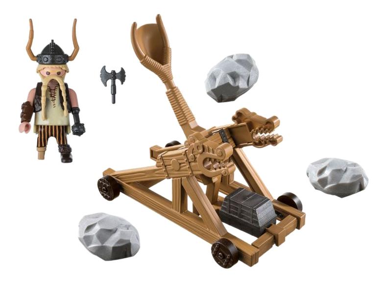 Купить Драконы: Гоббер с катапультой, Игровой набор Playmobil PLAYMOBIL Драконы: Гоббер с катапультой, Игровые наборы