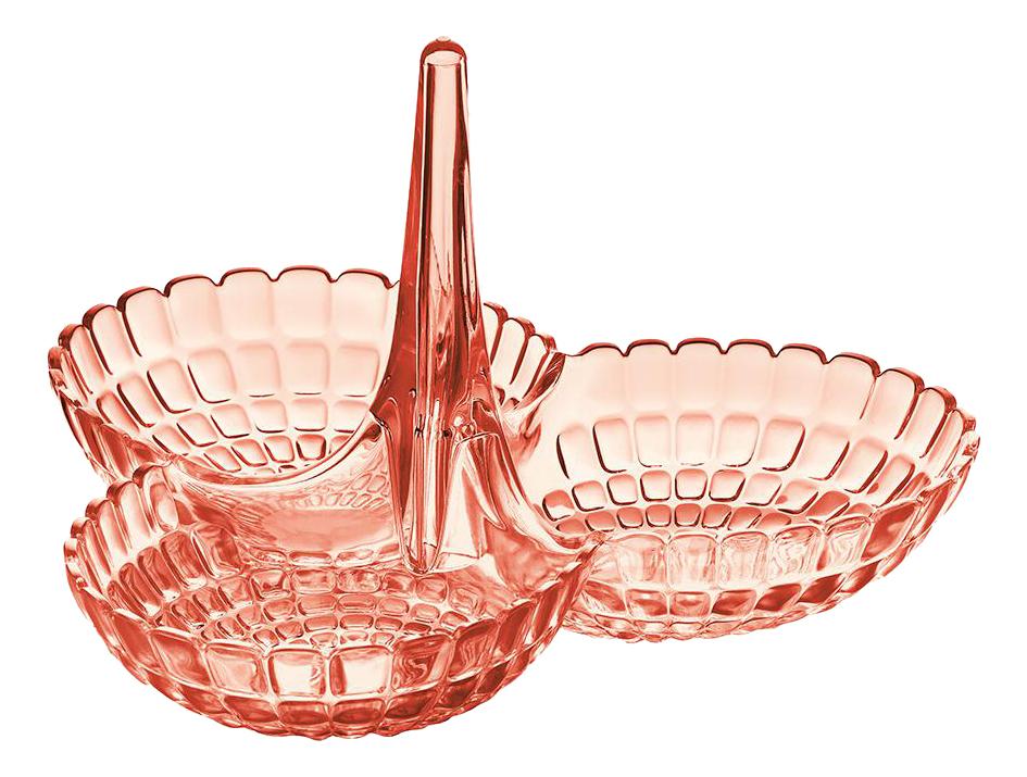Менажница Guzzini Tiffany коралловая