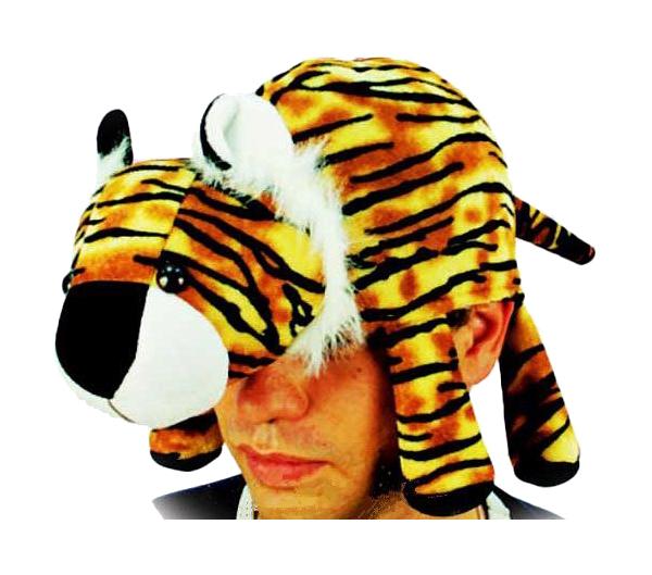 Купить Карнавальная шапка XMAS-GROUP Тигр лежачий, 56-58 см F7331-2R,