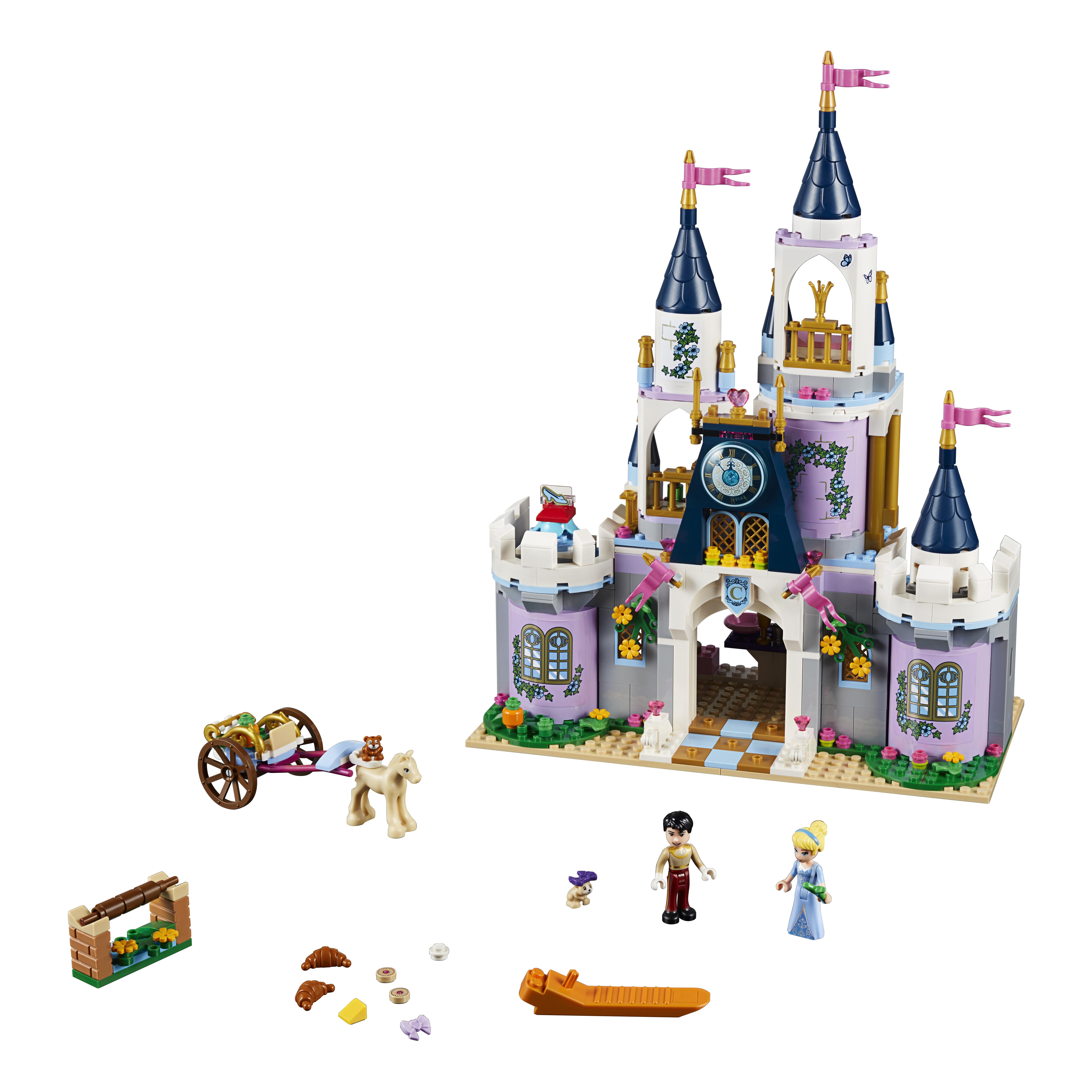 Конструктор LEGO Disney Princess Волшебный замок Золушки (41154) фото