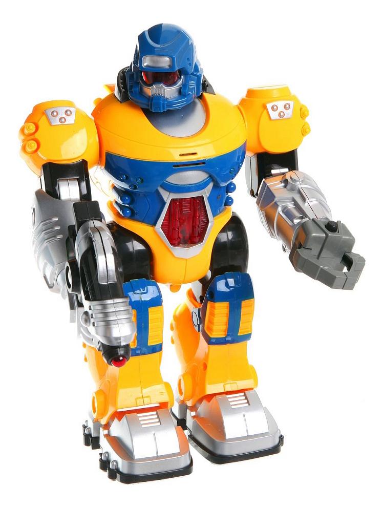 Купить Интерактивный робот Zhorya Бласт желтый, Интерактивные мягкие игрушки