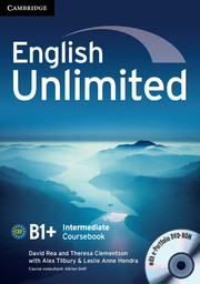 Eng Unlimited Int CB with e-Portfolio DVD