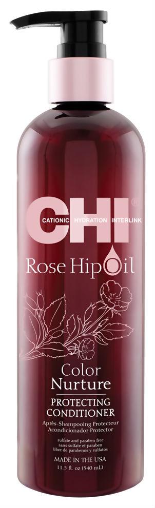 Купить Кондиционер для волос CHI Rose Hip Oil Color Nurture Protecting 340 мл