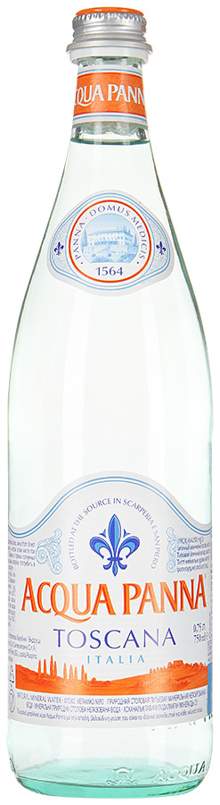 Вода питьевая Acqua Panna негазированная стекло 0.75 л фото