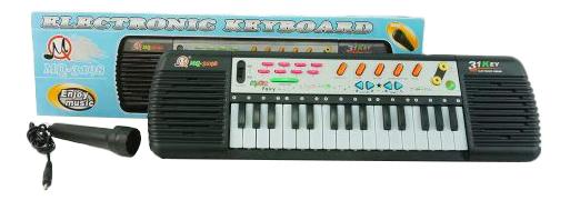 Купить Детский синтезатор с микрофоном Shantou Gepai 1508M394, Детские музыкальные инструменты
