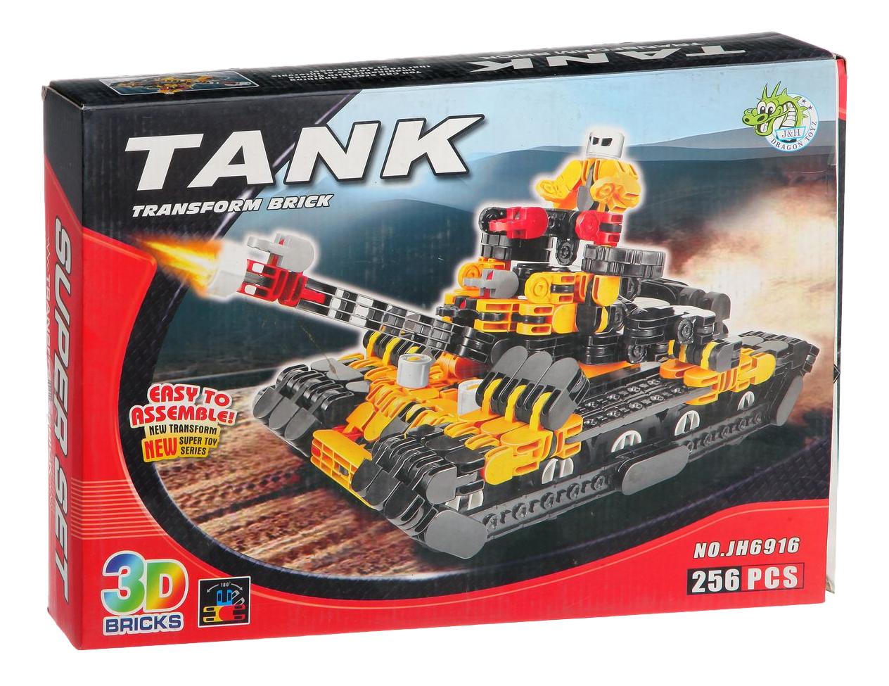 Конструктор Танк Dragon Toys Страйп 256 дет.