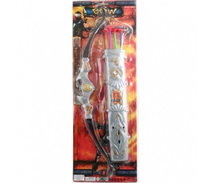 Купить Набор оружия Лук и стрелы с присосками Gratwest К30450, Луки со стрелами детские