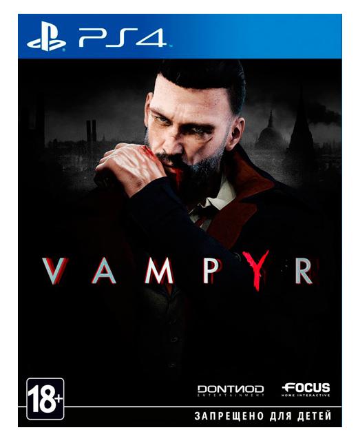 Игра Focus Home Interactive Vampyr для PlayStation 4 фото