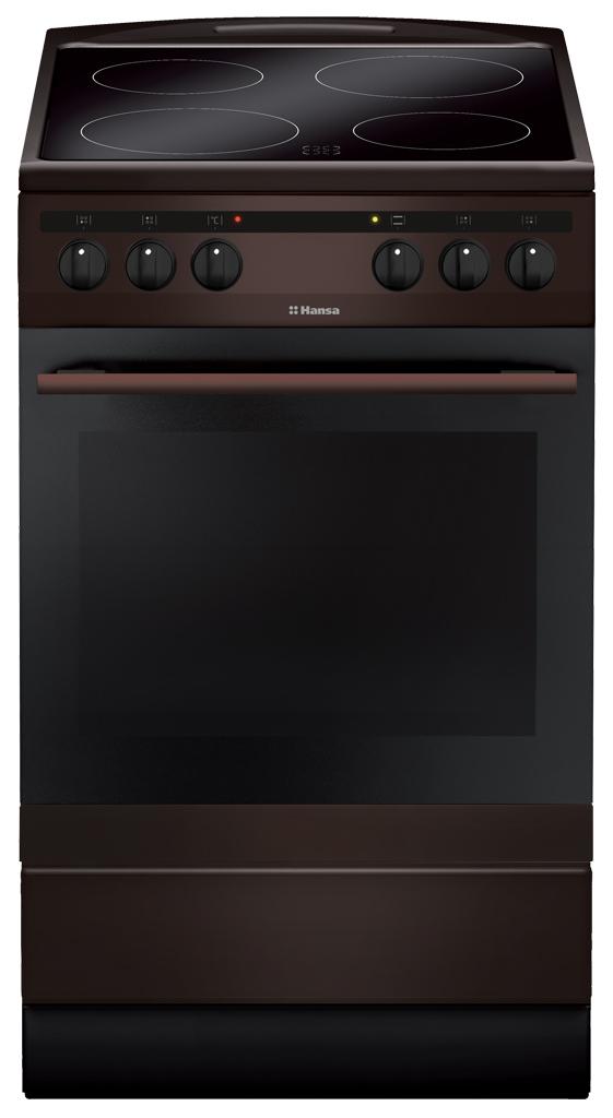 Электрическая плита Hansa FCCB58088 Brown