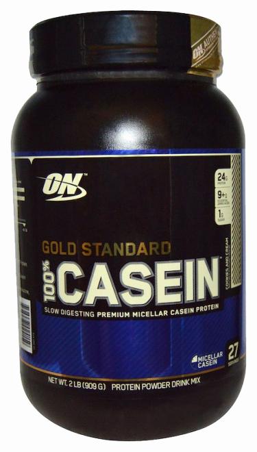 Протеин Optimum Nutrition 100% Casein Protein 909 г Cookies & Cream фото