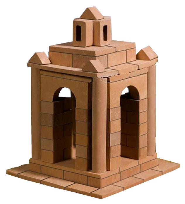 Конструктор для малышей BrickMaster Кирпичики Беседка 95 деталей.