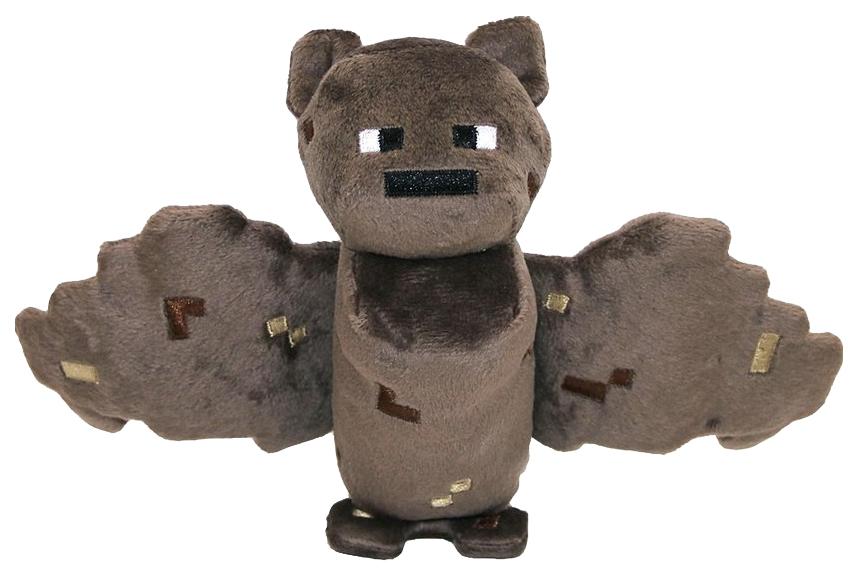 Купить Minecraft Летучая мышь, Мягкая игрушка Jazwares из плюша Летучая мышь Minecraft 18 см, Мягкие игрушки персонажи