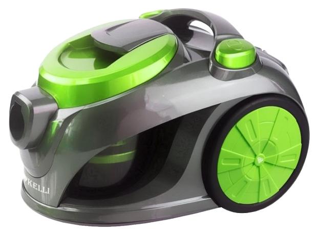 Пылесос KELLI  KL 8008 Green/Grey
