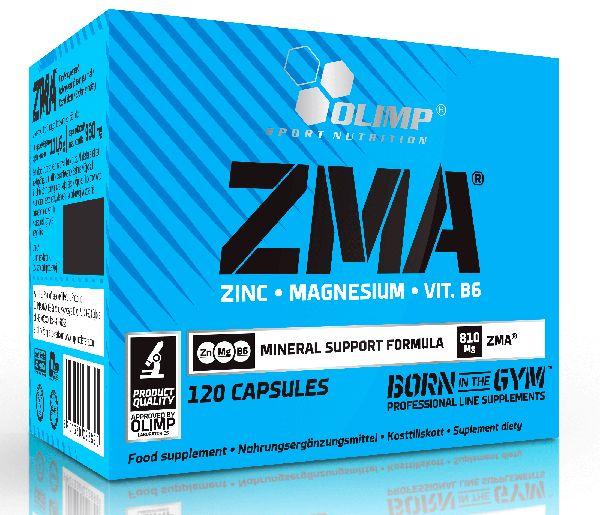 Магний и цинк Olimp ZMA 120 капсул