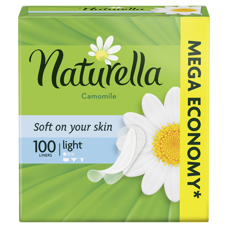 Женские гигиенические прокладки Naturella Camomile Light 100шт