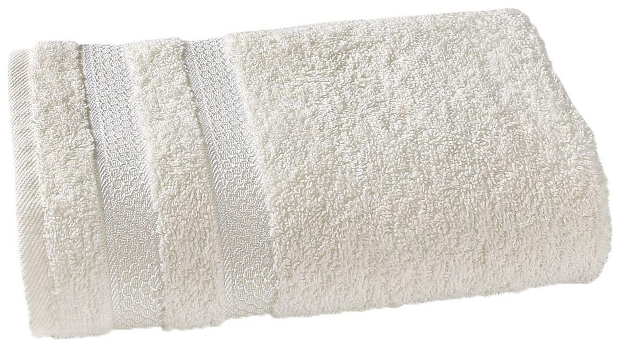Комплект полотенец Karna Petek Кремовый, 50х90 см +70х140 см