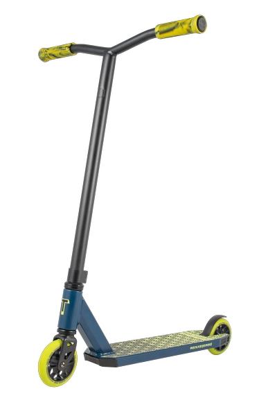 Купить Самокат трюковой Tech Team Duker 202 2020 синий, Самокаты детские двухколесные
