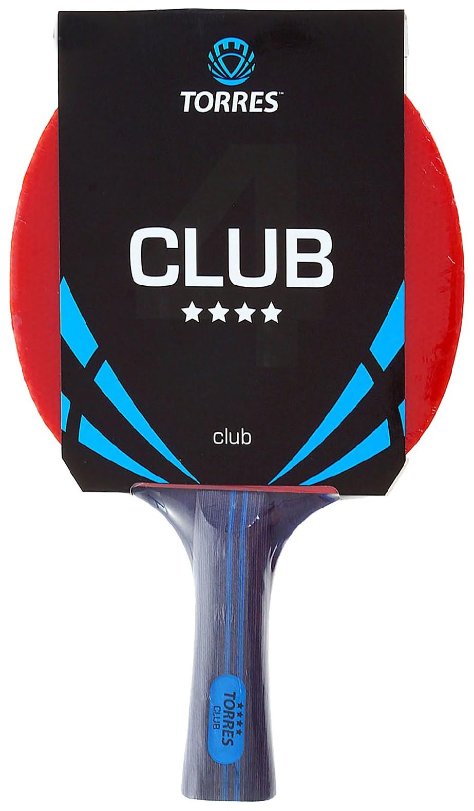 Ракетка для настольного тенниса Torres Club - 4 фото