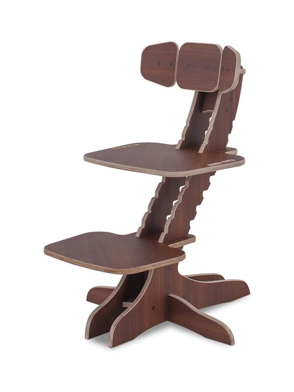 Растущий детский стул Kandle Ergosmart орех