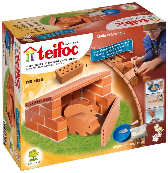Конструктор Teifoc Tei 1020 Свиноферма