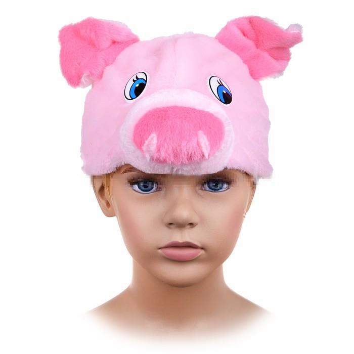 Карнавальная маска-шапка Карнавалофф Поросёнок размер 53-55 4057