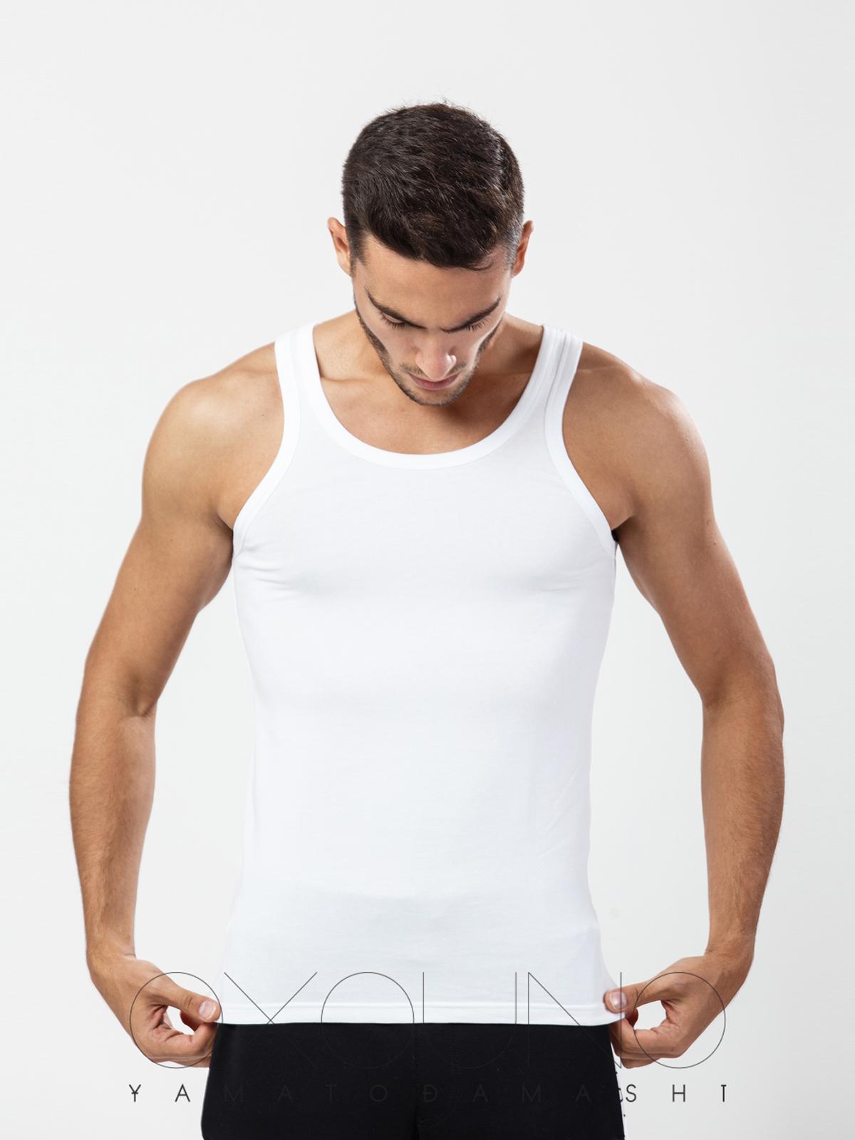 Майка мужская Oxouno белая XL