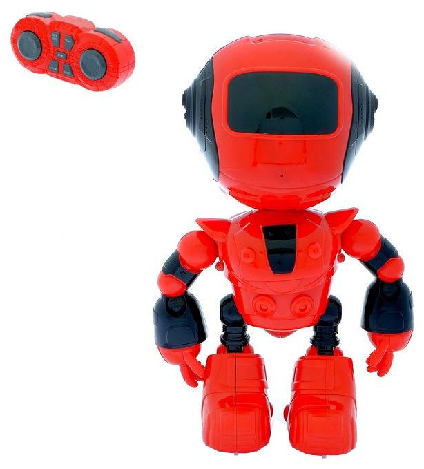 Купить Робот р/у, свет, звук, аккум., USB шнур, эл.пит.АА*2шт.не вх.в комплект, коробка, Наша игрушка, Радиоуправляемые роботы