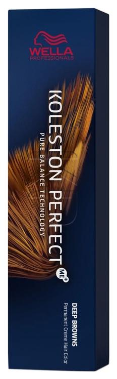 Краска для волос Wella Koleston Perfect Me+ Deep Browns 4/75 Бомбейский палисандр 60 мл