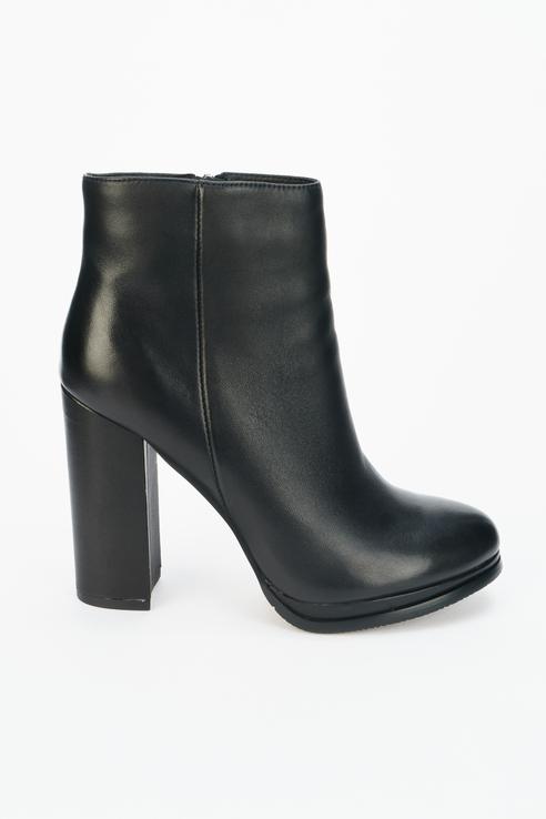 Ботинки женские Tervolina черные 36 RU
