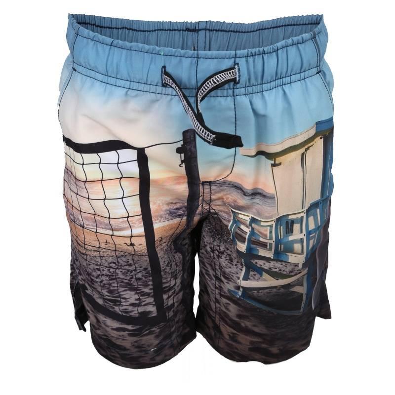 Купить Шорты для плавания Nario Molo, цв. голубой, 164 р-р, Детские брюки и шорты