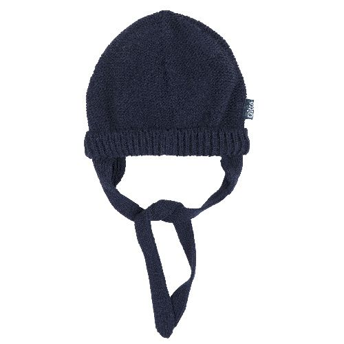 Купить Шапка Chicco для мальчиков и девочек р.3 цвет тёмно-синий, Детские шапки