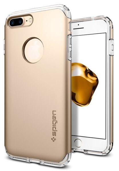 Чехол Spigen Hybrid Armor для Apple iPhone 7 Plus Champagne Gold (043CS20699)